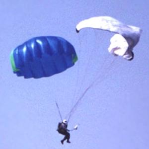 Запасной парашют Пух